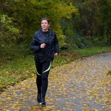 Marianne hardlopend staand