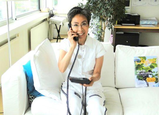Ayna Siem wil met stralingsexperiment bewustwording creëren 4