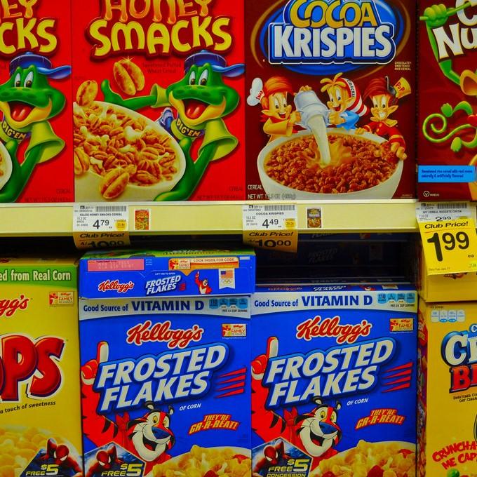 cereals staand