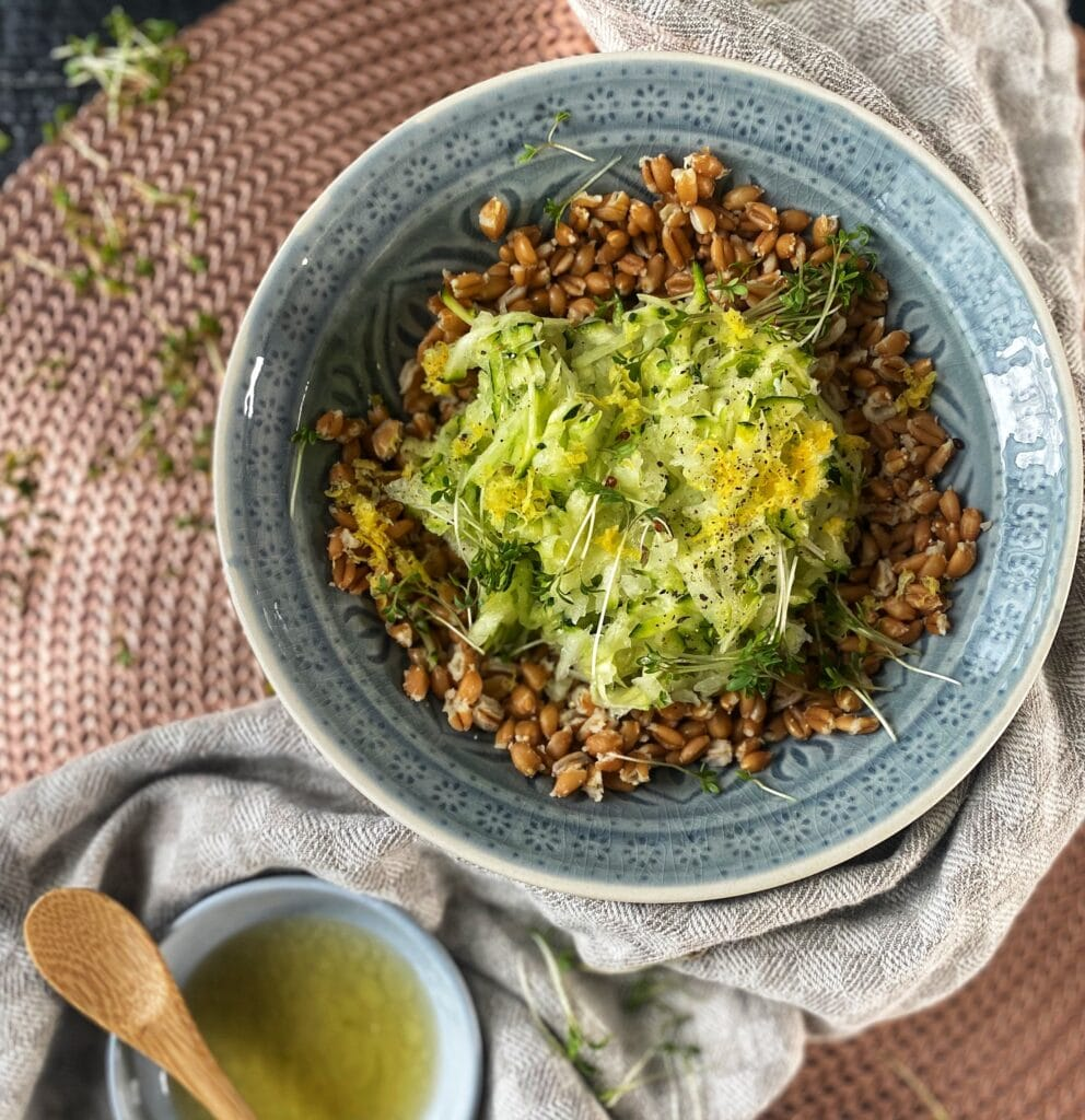 Courgettesalade 3