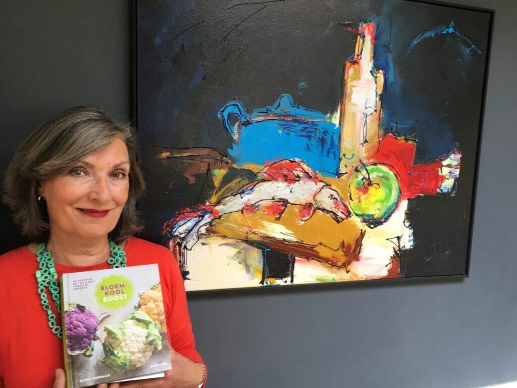 Irene Boeijinga won het boek Bloemkoolboost: 'Enig!' 3