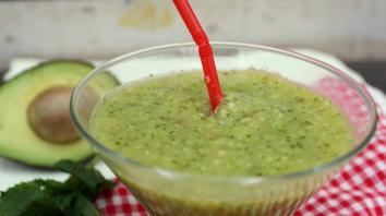 Ontbijtsmoothie ananas - avocado 11
