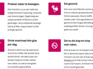 'Overheid propageer Leefstijl!' Medische elite maant Den Haag tot actie 4