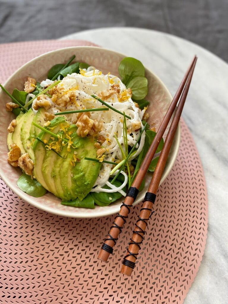 Salade met rettich 3
